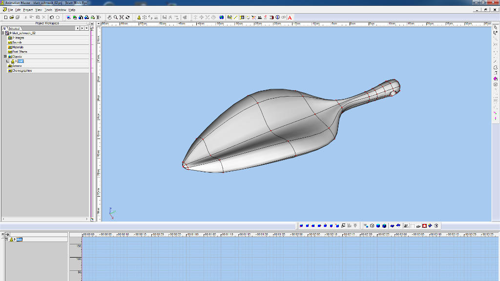 3d object for 3d print in Hash Animation:Master