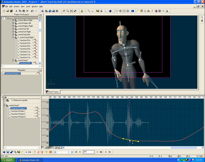 barry zundal tutorials 03 Animation