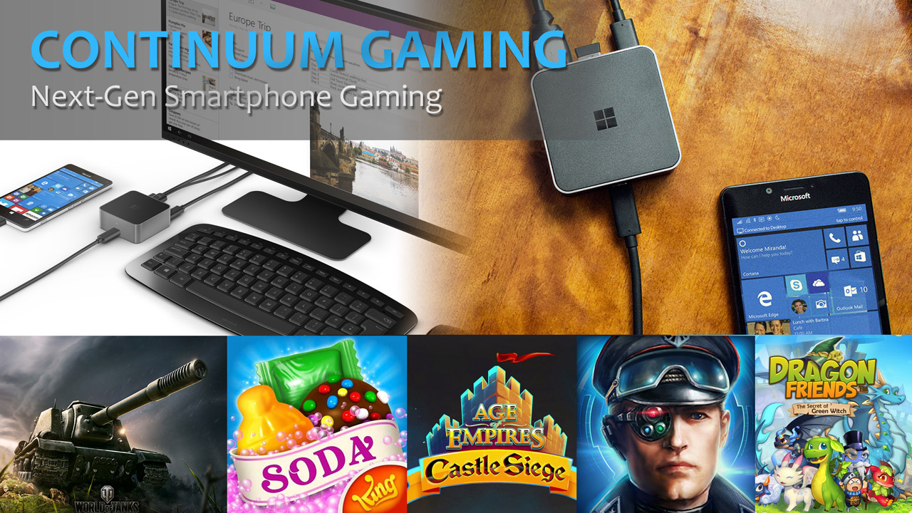 Microsoft Continuum Gaming by Patchwork3d