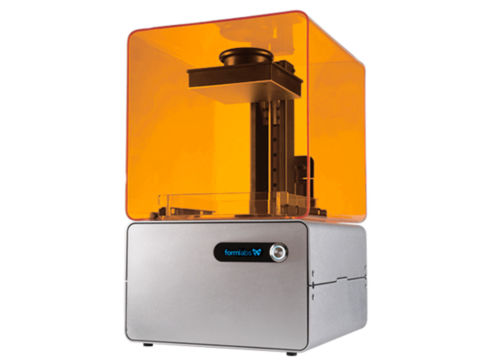 Formlabs Form 1: Stereolitorgraphy printer