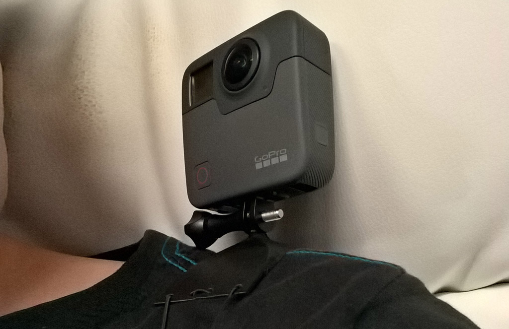 GoPro Fusion 3d-Print Mounted 1