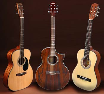 My 3 Akustik-Guitars