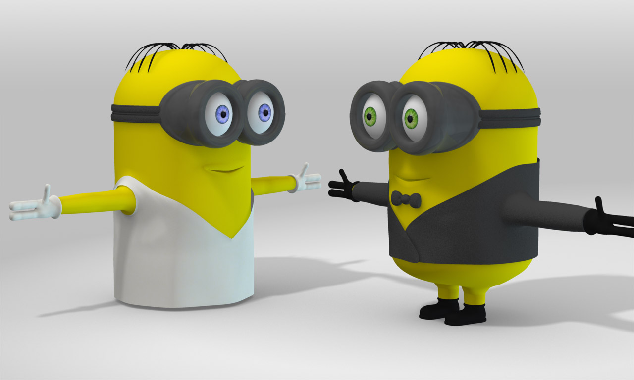 Minions get married...