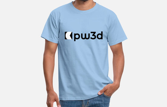 T-Shirt PW3d Male