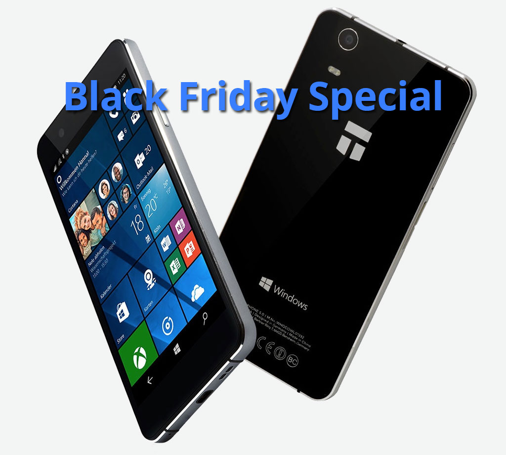 Trekstor WinPhone 5.0 Black Friday